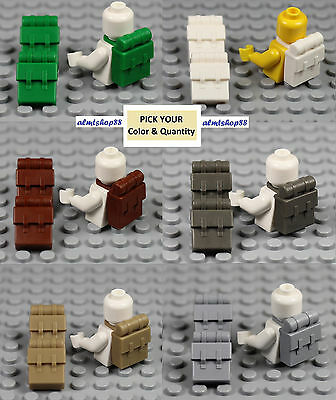 LEGO - Minifigure Backpack - PICK YOUR COLORS - Non-Opening 2524 Hoth Rebel Lot