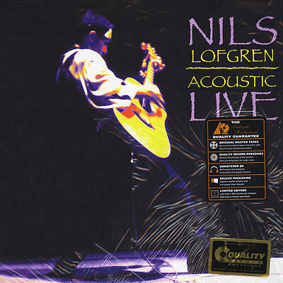 Nils Lofgren - Acoustic Live 200g Vinyl Edition (2LP - 2015 - US - Original)