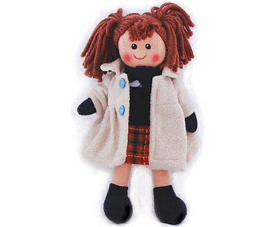 New 25cm dress up doll with Coat, skirt and shoes