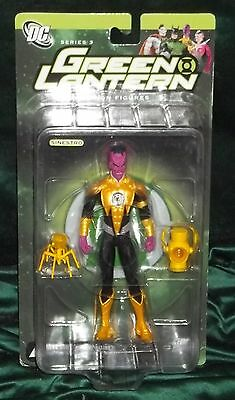 Dc Direct Collectibles Green Lantern Series 3 Yellow Suit Corps Sinestro Figure