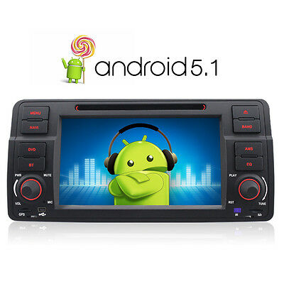 Android 5.1 DVD GPS Player for BMW E46 3 Series318 320d 325 Rover 75 MG ZT  DAB+