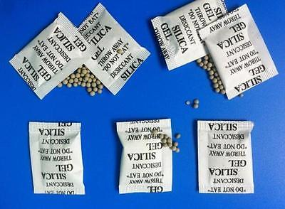 50 Packs New Good Drypack 1 Gram Silica Gel Packets Desiccants Ship Dry
