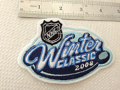 NHL winter classic 2008 embroidered patch (Easy Sew On/ Iron On)