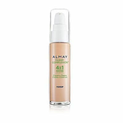 Almay Clear Complexion Foundation Makeup Blemish Heal New Please Select Shade