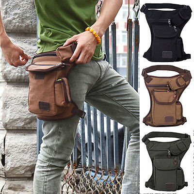 Tactical Military Hunting Leg Thigh Bag Outdoor Camping Panel Pouch New Gift