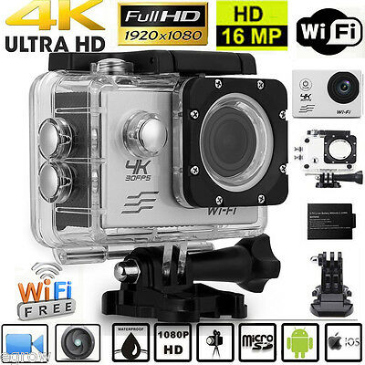 Image result for V60 Wifi Action Camera 16MP Ultra HD 4K 30FPS 2.0 inch 170 Degree Lens 30M Waterproof Action Camera