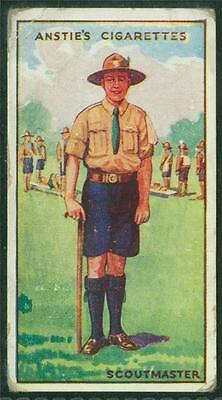 1923 Anstie's Scout Series, Tobacco card, No 5, Scoutmaster