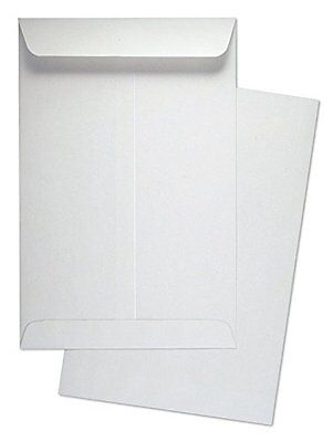 "6"" x 9"" Premium Catalog (Open End) Envelopes, White, 500/Box"