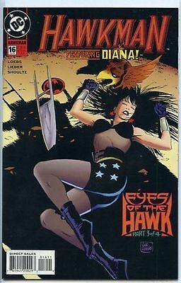 Hawkman 1993 series # 16 near mint comic book