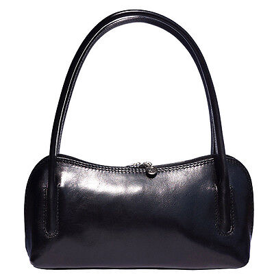 4268325c07eb2 HANDBAG BAG ITALIAN Genuine Leather Hand made in Italy Florence 6886 ...