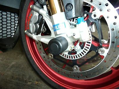 Ducati Monster 1100 2009 - Onward Crash Mushrooms Front Axle Sliders Bobbins S2C