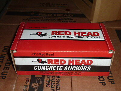 "RED HEAD HN-1240 full Sleeve cement Anchor Pk 25 pack of 1/2"" x 4"" Dynabolt"