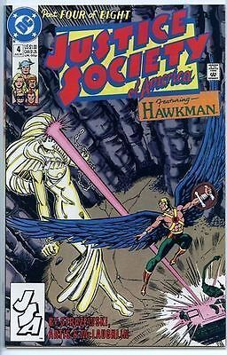 Justice Society of America 1991 series # 4 near mint comic book