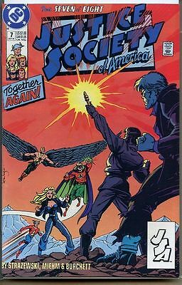 Justice Society of America 1991 series # 7 near mint comic book
