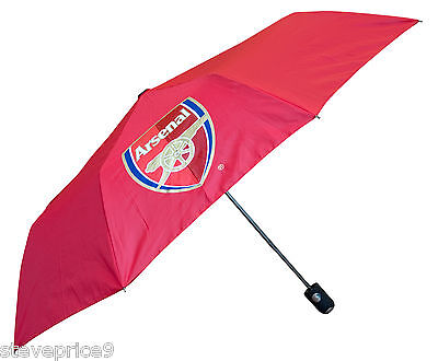 Arsenal Official Licensed Mini Automatic Golf Umbrella - Red