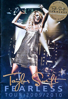 Taylor Swift - Fearless - Tour 2009 / 2010 - Tour Book With Sticker