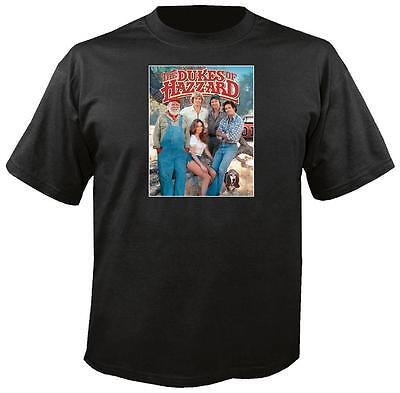Tee Shirt New Adult Cotton Unisex classic 1980s TV show The Dukes Of Hazzard