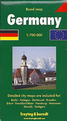 Map of Germany by Freytag & Berndt