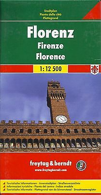 Map of Florence, Italy by Freytag & Berndt