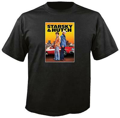 Tee Shirt New Adult Cotton Unisex classic 1970s TV show Starsky & Hutch t shirt