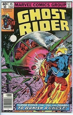 Ghost Rider 1973 series # 45 very fine comic book