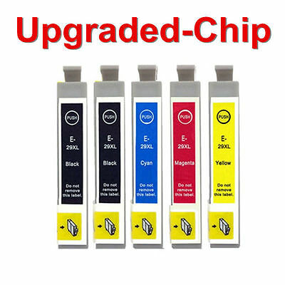 5 Ink Cartridges for Epson Expression Home XP235 XP332 XP335 XP432 XP435