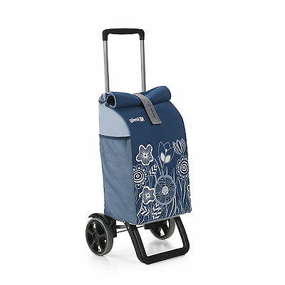 Rolling Thermo 50 L Kühlfach Trolley Einkaufwagen Einkaufstrolley Einkaufsroller