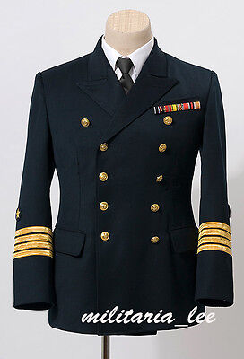 WW2 German Repro Kriegsmarine( Navy)Officer Whipcord Tunic All Sizes