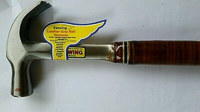 Estwing Leather Grip Nail Hammer 24oz  - MADE IN USA