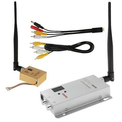 Trasmettitore Audio video 1.2GHz 800mW wireless Room to Room Kit completo