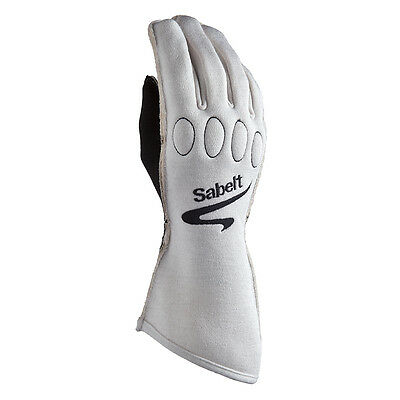 Sabelt Racing FG-500 Z1221 FIA Fireproof Grip Race Rally Drivers Nomex Gloves