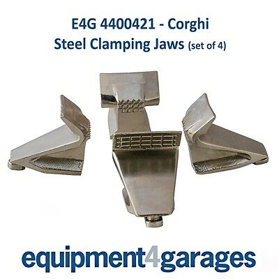 Corghi Tyre Changer Replacement Steel Clamping Jaws (set of 4) E4G 4400421