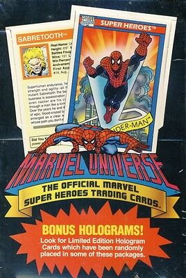 1990 Impel Marvel Universe Box