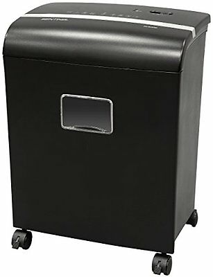Sentinel FM121P 12-Sheet High Security Micro Cut Paper Credit Card Shredder with