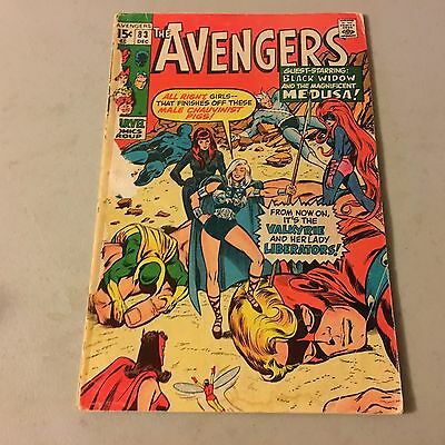 AVENGERS #83 Marvel Comics Bronze Age Key Issue 1st Appearance of VALKYRIE