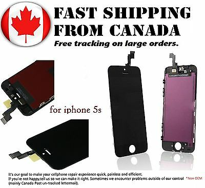 Replacement LCD For iPhone 5S Touch Screen Display Digitizer Assembly LCD Black