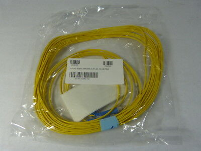 Optical Cable Corp STSC-SMD-12 Singlemode Duplex Optic Cable 12m ! NWB !