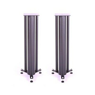 "Custom Design 24"" (610mm) FS 103 Speaker Stands (Pair) - Black"
