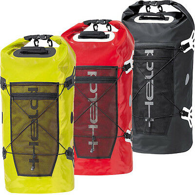 Held Motorcycle Roll Bag Waterproof Dry Motorbike Tail Pack Round Touring Carry