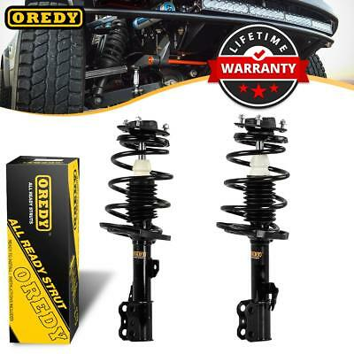 Pair (2) Front Complete Struts & Coil Spring w/ Mounts For 2004-06 Camry ES330