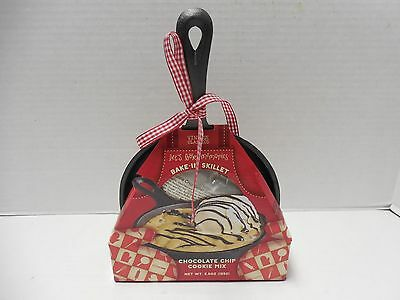New Small Cast Iron Skillet & Chocolate Chip Cookie Mix 4/1/2014