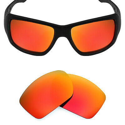 22c06d3176cd Mryok POLARIZED Replacement Lenses for-Oakley Big Taco Sunglasses Fire Red
