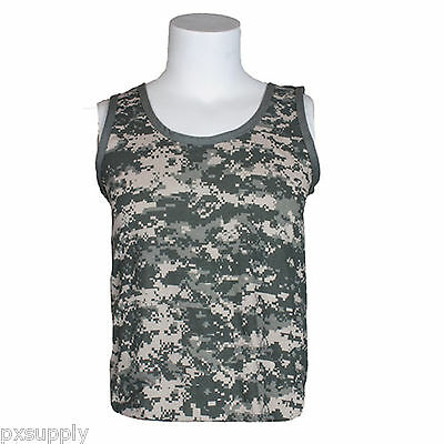 a576977b Men's Clothing tank top pink camo camouflage mens cotton poly blend rothco  67702 Clothes, Shoes & Accessories