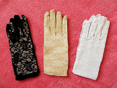 womens lady party fashion weddings fancy dress parties daily lace gloves