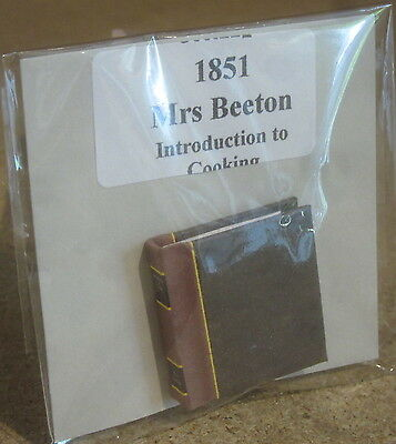 Dolls House 12 scale Book  Mrs. Beeton