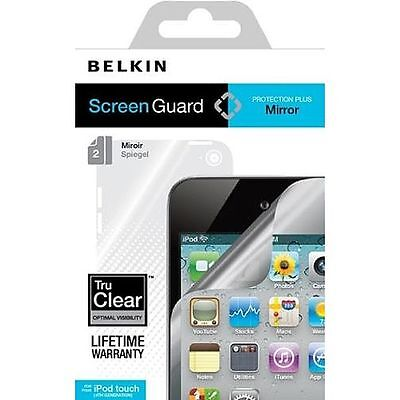 iPod Touch 4G 4th Generation Screen Protector Guard Mirror Reflect BELKIN 2 Pack