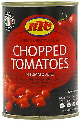 Ktc Chopped Tomatoes Pack of 24 -24 x 400g
