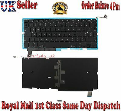 "Genuine Macbook Pro15"" A1286 UK laptop Keyboard with backlit 2009 - 2012"