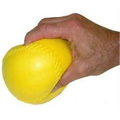 Olympia Sports PS308P 16 in. Firm Yellow Only Ball