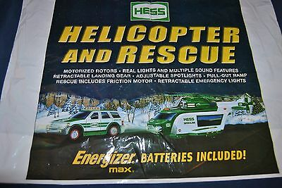 2012 HESS Helicopter and truck bag